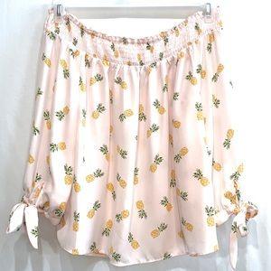Lily White Pink Shirt